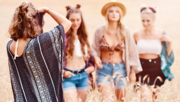 ogar die Werbefotos machen die jungen Feldkirchnerinnen selbst. (Bild: Lockstoff)
