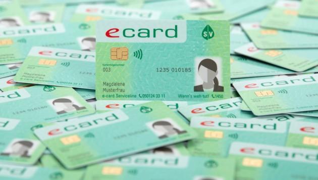 Die neue E-Card kommt mit Foto. (Bild: Georg Wilke)