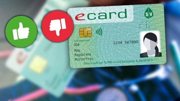 (Bild: Hauptverband der Sozialversicherungsträger, APA/HARALD SCHNEIDER, krone.at-Grafik, stock.adobe.com)
