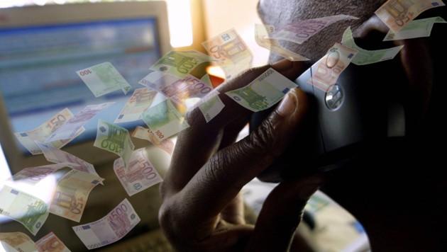 Eine 83-Jährige schrammte gerade noch daran vorbei Opfer eines Telefonbetruges zu werden (Bild: AFP, Krone)