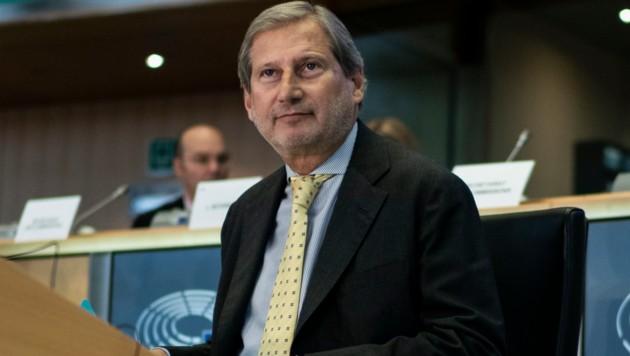 Johannes Hahn strebt in der am 1. November antretenden EU-Kommission das Amt des Budgetkommissars an. (Bild: AFP)