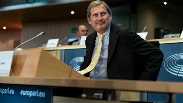 Johannes Hahn (Bild: AFP)
