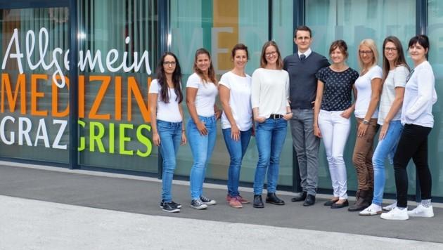 Die Gruppenpraxis Allgemeinmedizin Graz-Gries ist seit 1. Oktober geöffnet und wird von den Ärztinnen Johanna Leitner und Elisabeth Wejbora als Primärversorgungseinheit geführt. (Bild: Helmut Reisinger)