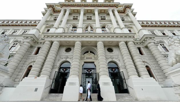 Das Oberlandesgericht Wien (Bild: APA/Herbert Neubauer)