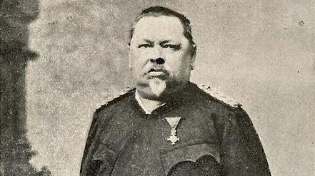 Ferdinand Jergitsch, Klagenfurter Feuerwehrpionier, lebte von 1836 bis 1900. (Bild: TAÖ/AAvK)