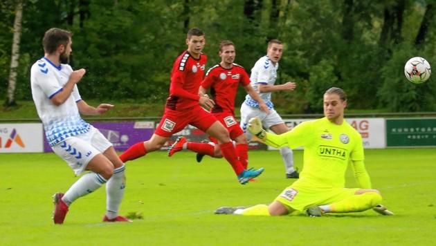 Spielen in der Regionalliga (im Bild Fc Pinzgau und Anif) bald 16 Vereine? (Bild: krugfoto/Daniel Krug jun.)