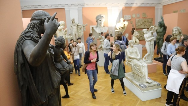 Das Archäologische Museum der Uni Innsbruck war Publikumsmagnet. Es feiert heuer 150. Geburtstag. (Bild: Birbaumer Christof)