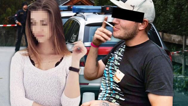 Andreas E. soll seine Ex-Freundin Nadine H. und vier weitere Menschen in Kitzbühel erschossen haben. (Bild: APA/ZOOM.TIROL, facebook.com, krone.at-Grafik)