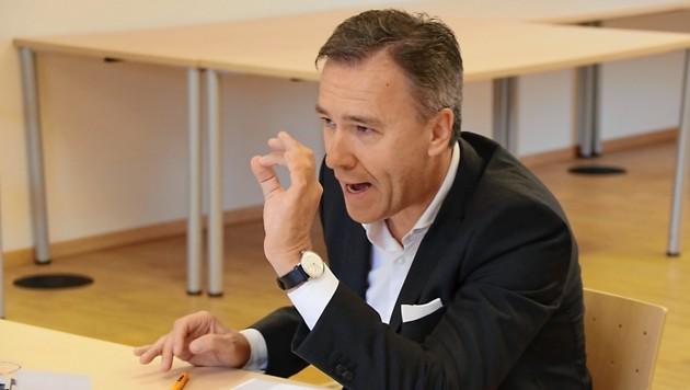 Sturm-Präsident Christian Jauk (Bild: Christian Jauschowetz)