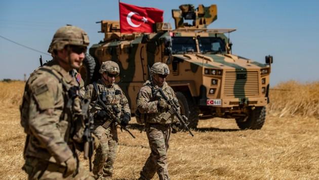 Seit Langem wird eine türkische Militäroffensive in Nordsyrien erwartet. Die US-Truppen sind nun auf dem Rückzug. (Bild: AFP)