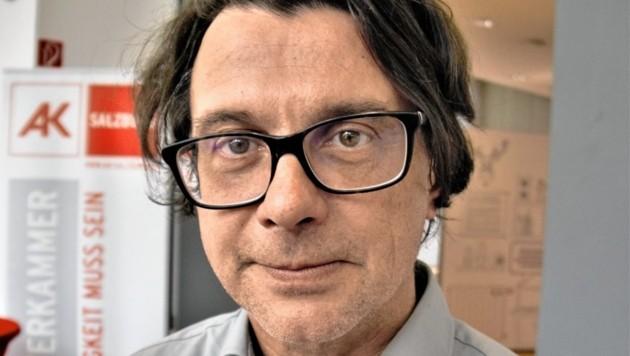 Michael Mondrian von den Zukunftsforschern aus Linz (Bild: Christoph Laible)