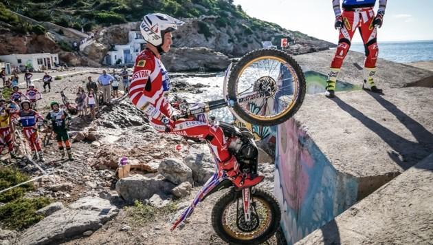 (Bild: FIM Pep Segales, Trial GP Philippe Damiens)