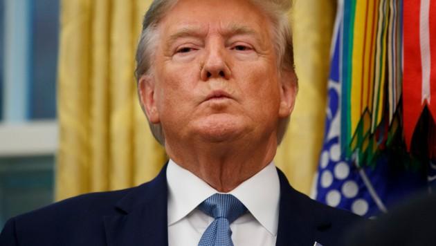 US-Präsident Donald Trump (Bild: AP)