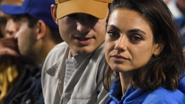 Ashton Kutcher und Mila Kunis (Bild: 2018 Getty Images)