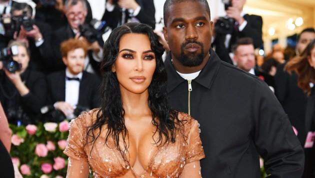 Kim Kardashian und Kanye West (Bild: 2019 Getty Images)