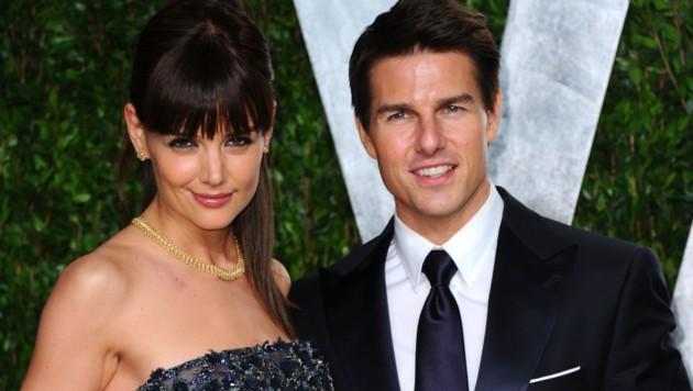 Katie Holmes und Tom Cruise (Bild: 2012 Getty Images)