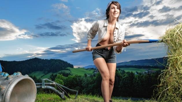September: Karina (Kärnten) (Bild: Jungbauernkalender 2020/Die Abbilderei Sajovic&Scherr GesbR)