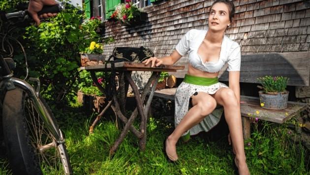 Juni: Sabrina (Niederösterreich) (Bild: Jungbauernkalender 2020/Die Abbilderei Sajovic&Scherr GesbR)