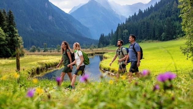 Im schlimmsten Fall verändert sich das Bild der Alpen so, dass auch der Tourismus bedroht ist (Bild: Steiermark Tourismus / ikarus.cc)