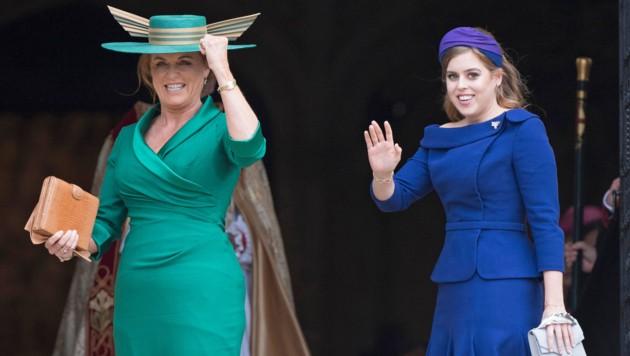 Sarah Ferguson und Prinzessin Beatrice (Bild: www.PPS.at)