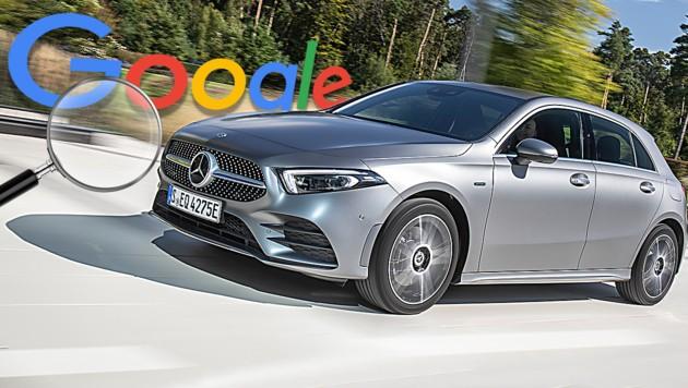 (Bild: Daimler, stock.adobe.com, krone.at-Grafik, Google)