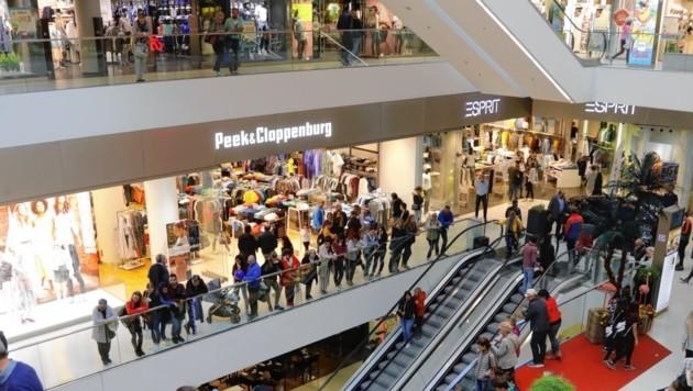 Peek & Cloppenburg zieht aus dem Kaufhaus Tyrol aus. (Bild: Christof Birbaumer / Kronenzeitung)