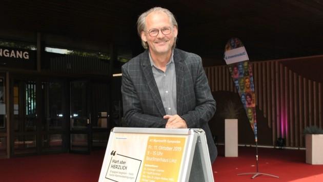 Christoph Zulehner, Ried im Innkreis, ist rund 40 Jahre als Stratege und Experte für das Gesundheitswesen tätig. (Bild: LiveBild)