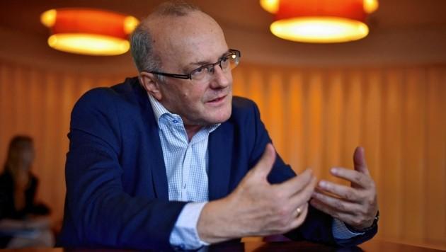 Gerichtspsychiater Reinhard Haller (Bild: Markus Wenzel)