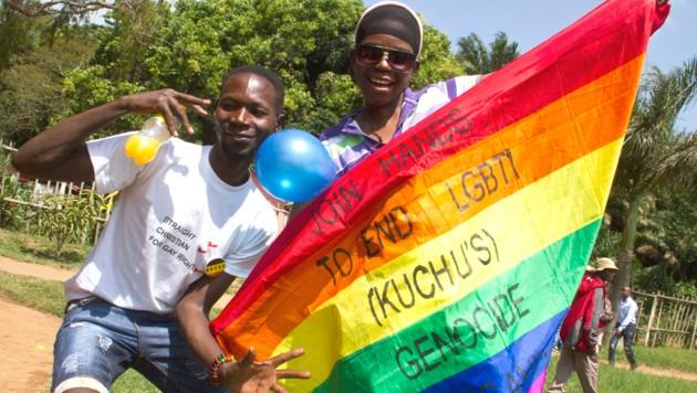 Ugandas Regierung will die Todesstrafe für Homosexuelle einführen. (Bild: AFP)