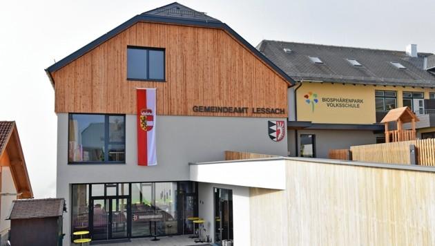 Das neue Gemeindezentrum wurde eröffnet. (Bild: Roland Holitzky)