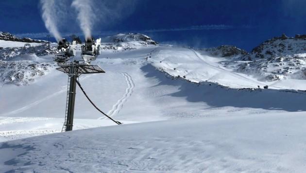 Eine Piste am Mölltaler Gletscher. (Bild: Tatry Mountain Resorts)