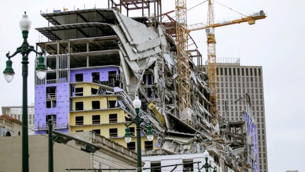 Hard-Rock-Hotel stürzt vor Fertigstellung ein