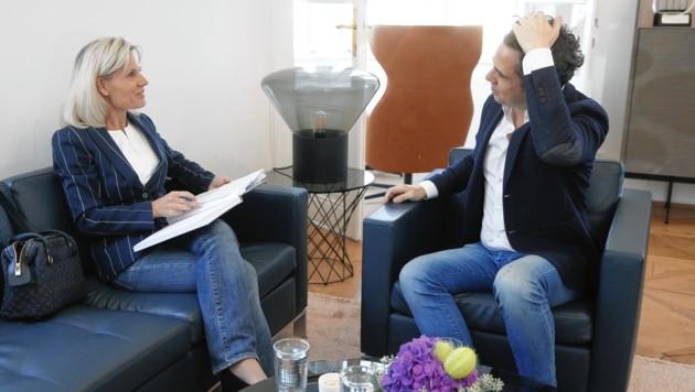 """""""Krone""""-Interview: """"Kampagnen sind ein faszinierendes Instrument, um Veränderungen zu erwirken."""" (Bild: Reinhard Holl)"""