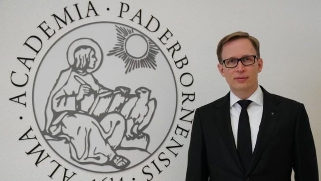 Univ.-Prof. Dr. Stefan Kopp. Der 34-Jährige bleibt Priester der Diözese Gurk. (Bild: Diözese)