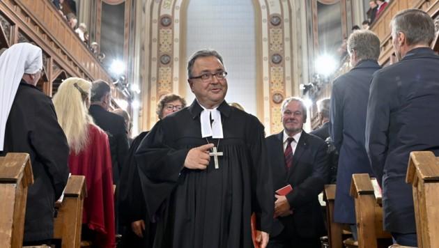 Evangelischer Bischof Chalupka in Amt eingeführt