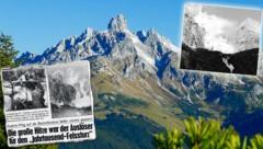 Die Bischofsmütze wird jährlich von rund 1000 Kletterern bestiegen. Vorsicht ist geboten. (Bild: GERHARD SCHIEL, Krone)