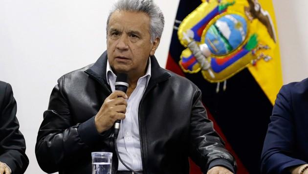 Ecuadors Staatschef Lenin Moreno (Bild: Associated Press)