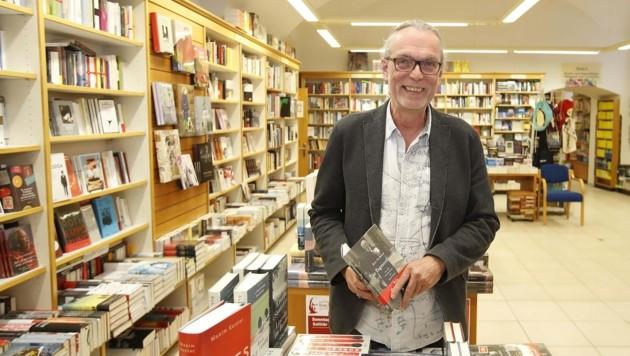 Leiter der Rupertus Buchhandlung Klaus Seufer-Wasserthal (Bild: Tschepp Markus)