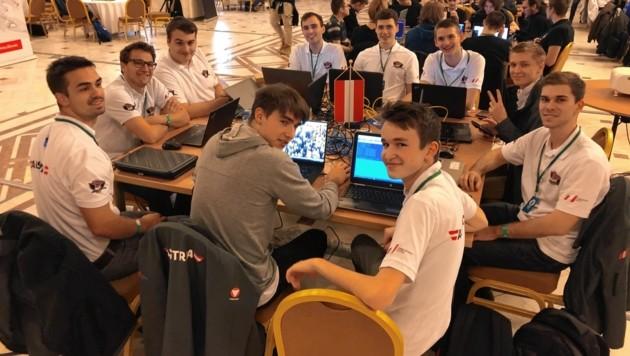 Das Team der TU Graz (Bild: CSA 2019)