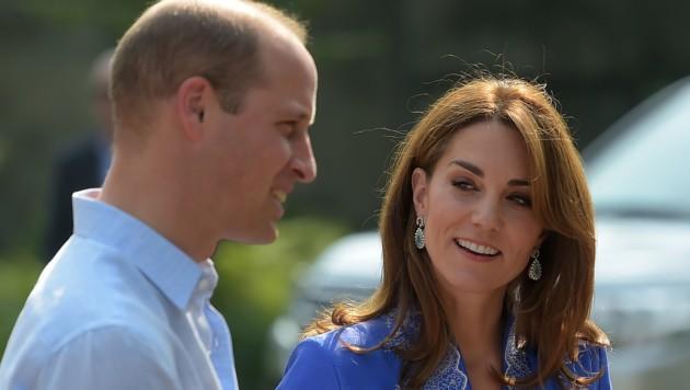 Prinz William und Herzogin Kate (Bild: AFP)