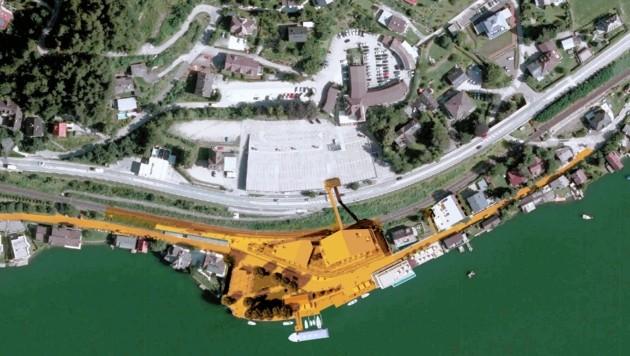 Der Gemeinderat hat den integrierten Flächenwidmungs- und Bebauungsplan fürs Annenheim-Projekt beschlossen. (Bild: Trecolore Architects)