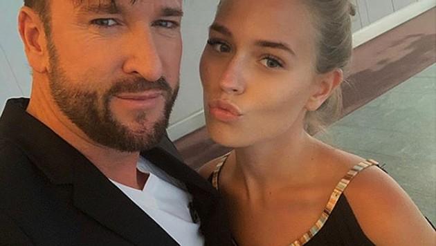 Michael Wendler mit seiner Freundin Laura Müller (Bild: instagram.com/lauramuellerofficial)