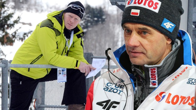 Dieter Thoma und Stefan Horngacher (Bild: GEPA)