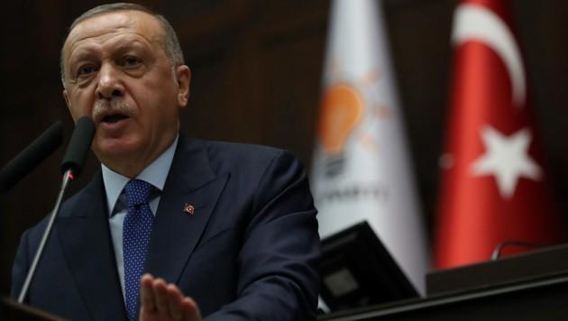 Der türkische Präsident Erdogan (Bild: AFP)