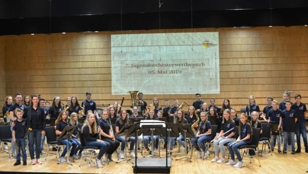 Auch das Orchester KlangWolke aus dem Lavanttal tritt an.