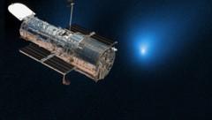 (Bild: NASA, ESA, D. Jewitt (UCLA), NASA, krone.at-Grafik)