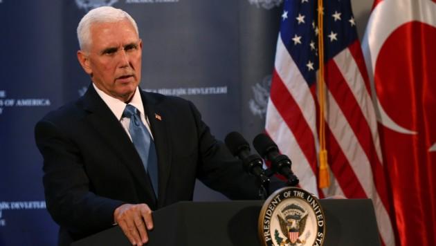 US-Vizepräsident Mike Pence (Bild: AP)
