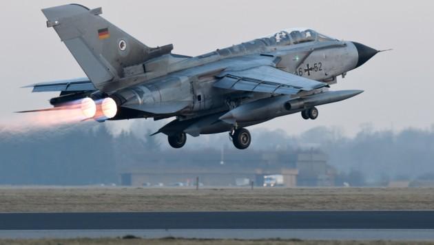 Ein Tornado-Kampfjet der deutschen Luftwaffe (Bild: AFP, Symbolbild)