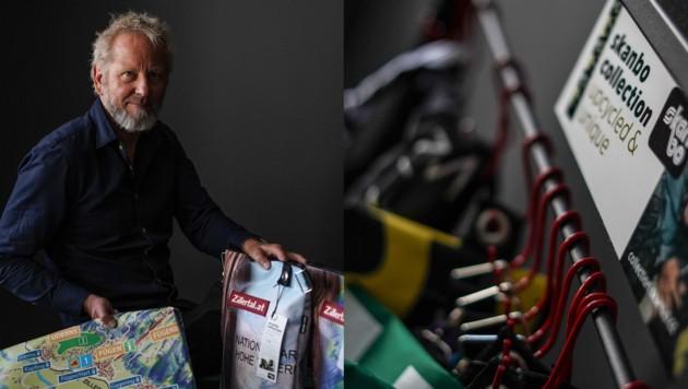 Mit seiner Firma Skanbo wird Manfred Nareyka nun zum Upcycling-Spezialisten. (Bild: Markus Wenzel)
