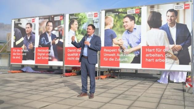 Michael Schickhofer (Bild: SPÖ Steiermark/Neves)